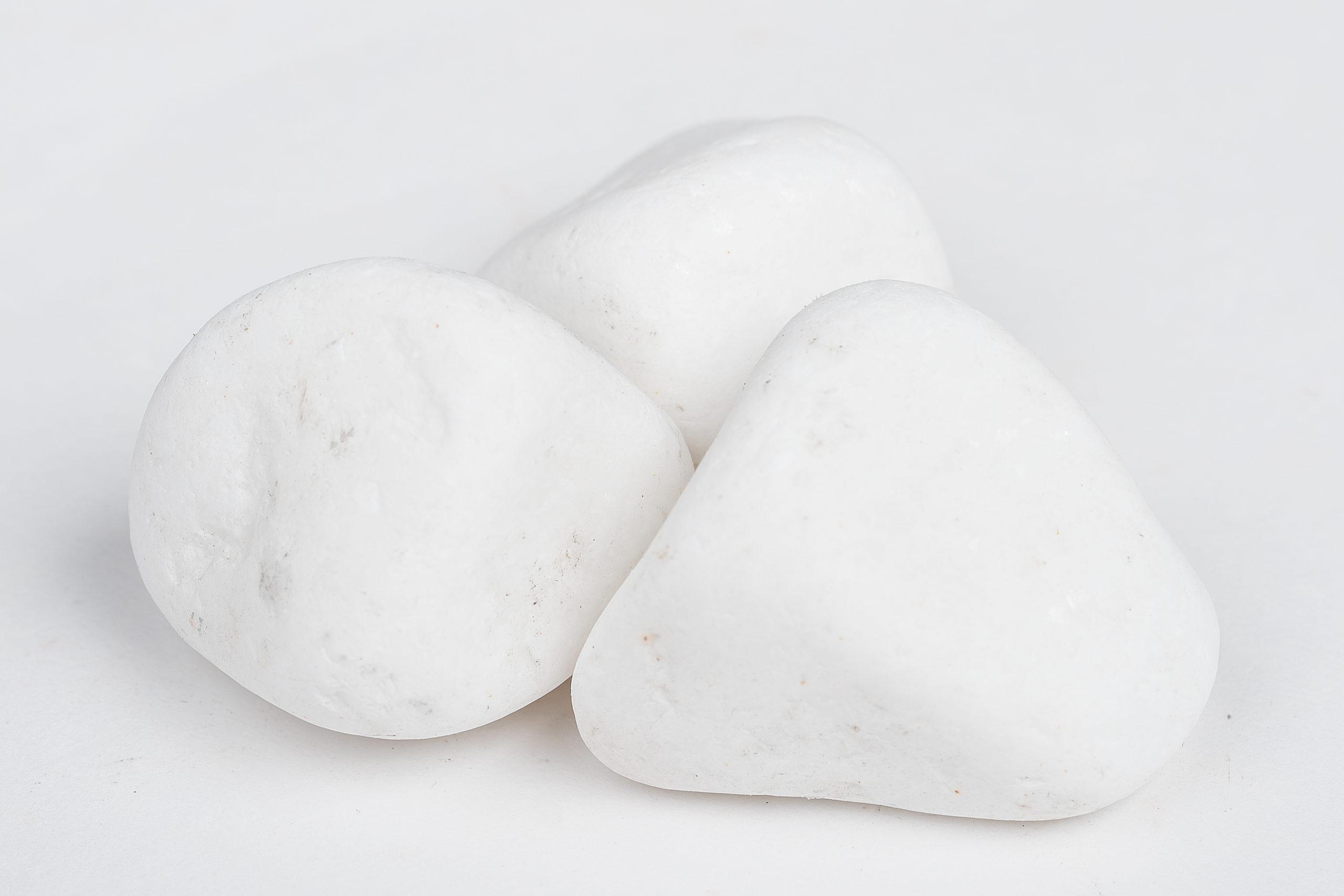 Hófehér márvány kavics